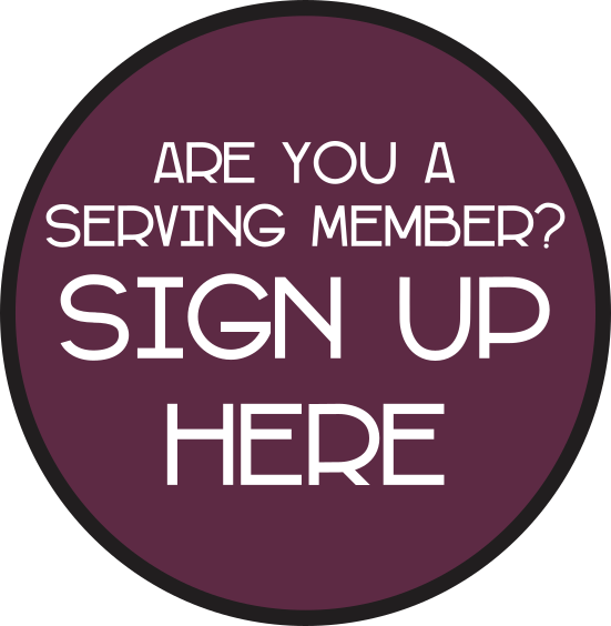 Are you a serving member PST
