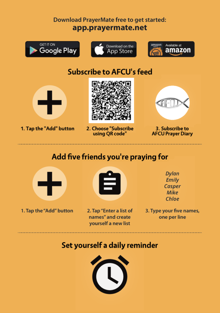 Prayer Union – Armed Forces Christian Union